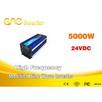 Wholesale Off Grid Modified Sine Wave Inverter Dc To Ac 24v 220v / 230v 5000w from china suppliers