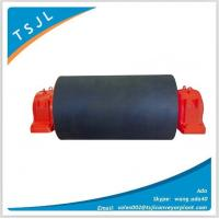 Wholesale Rubber lagging belt conveyor tail drum pulley from china suppliers