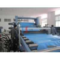 Wholesale Single Screw Plastic PE Foam Sheet Extrusion Line / PVC Plastic Sheet Line from china suppliers