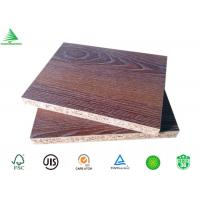 Wholesale Good quality formaldehyde free 4'X8' embossed finished teak MFC board 18mm from china suppliers