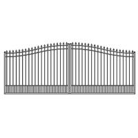 Wholesale No Rust Aluminum swing gate park gate metal gate from china suppliers