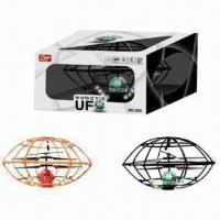 Wholesale 3.5-channel R/C UFO Helicopters/Frisbee Toys with 2 Assorted Colors from china suppliers