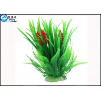 Wholesale Simulation Rice Flower Plastic Tall Artificial Aquarium Plants Wholesale for Decorate Fish Tank from china suppliers