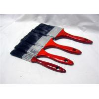 "Quality Customized 1"" 2"" 3"" 4"" Paint Brush For Walls With Red Lacquered Wooden Handle for sale"