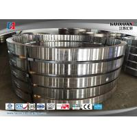 Wholesale 50Mn Large Diameter Forged Steel Flanges Engineering Slewing Bearing Flange from china suppliers