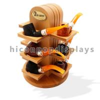 Wholesale Retail Shop Wooden Display Shelf Countertop Smoking Pipe Rack For Tobacco Store from china suppliers
