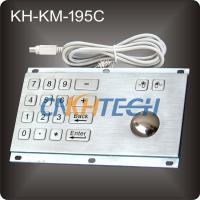 Wholesale Metal kiosk trackball keyboard from china suppliers