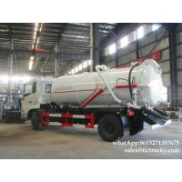 Wholesale King Run vacuum tanker truck- 8000L- 10000L septik tank truckCesspool Emptying Truck EURO 4/5 App:8615271357675 from china suppliers