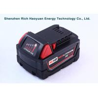 Wholesale 5.0Ah 18 Volt Lithium Ion Battery For Milwaukee M18 / 48-11-1840 / 48-11-1828 from china suppliers