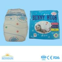 Bunny Hugs brand baby diaper hot selling in Nigeria and Ghana with high quality and strong absorbecy
