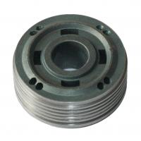 good properties sintered piston, 4 square holes and 8 round holes design, used in car shock absorbers