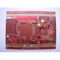 Wholesale 6 layer 1.2MM Main Board for Industry Control PCB Red Solder Mask , FR-4 base from china suppliers