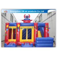 Wholesale Funny Safety Childrens Inflatable Bouncy Castle With Slide Combo Customized from china suppliers