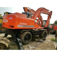 Wholesale used excavator for sale WHEEL excavator ex160wd hitachi excavator  from japan from china suppliers