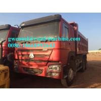 336HP,371HP 10 Wheel 6 x 4 Driving Heavy Duty Dump Truck With WABCO System / Strengthen Bumper LHD/RHD