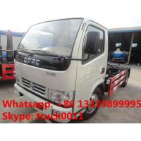 DONGFENG 6cbm hook arm garbage truck 4X2 6cbm rubbish collector truck for sale