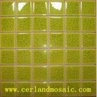 Buy cheap Swimming Pool Crackle Glazed Ceramic Mosaic from wholesalers