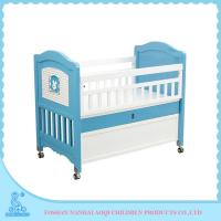 Bule / Yellow Adjustable Game Bed Bady Bed Rails Continental  School / Home