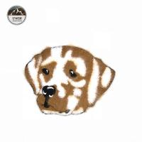 Wholesale 2018 New Towel Embroidery Patch,Cute Spotted Dog Towel Embroidery Patch#L30024 from china suppliers