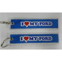 Wholesale I Love My Ford Truck Mustang Keychain from china suppliers