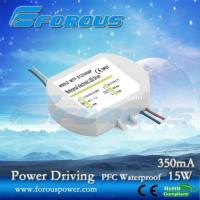 Wholesale PFC 350mA15W Constant Current Led Power Supply Ce Ul ,UL power supply,UL led down light dr from china suppliers