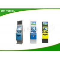 Wholesale 19 Inch LED Shopping Mall Kiosk , Magnetic / IC / NFC Card Payment Kiosk Machine from china suppliers