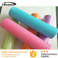 Wholesale 90cm high density eva foam roller with dot design rounded edges from china suppliers