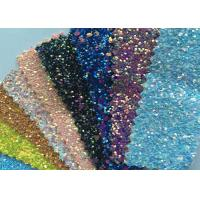 Buy cheap Fashion Chunky Glitter Fabric 3D Glitter Fabric For Hairbows 54/55