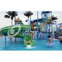 Wholesale Fiberglass Aqua Playground Equipment, Big Water House For Family Fun Customs from china suppliers