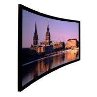Wholesale Ultra HD 4k projection screen , 16/9 curved screen Wall Installation for Cinema from china suppliers