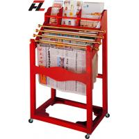 Wholesale Movable Wood Magaine and News Paper Racks - Brochure Display with Casters from china suppliers