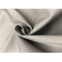 2/1 Twill Coated Polyester Fabric Cold Proof Anti Friction For Jacket / Winter Coat