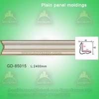 Buy cheap European style Environmental Decorative PU Plain Panel mouldings from wholesalers