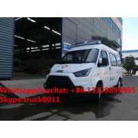 Wholesale HOT SALE! 2017s new lowest price JMC 4*2 LHD diesel smaller transporting ambulance for sale, smallest diesel ambulance from china suppliers