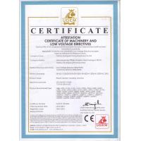 TAIZHOU HUANGYAN LISONG MACHINERY CO.,LTD Certifications