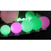 Wholesale best sell Garden Glow In The Dark Plastic Ball from china suppliers