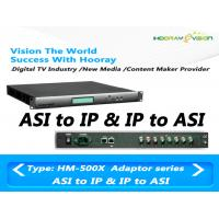 Wholesale SPTS/MPTS  IP Digital Scrambler Network IP to ASI and ASI to IP  Adapter Web Manager from china suppliers