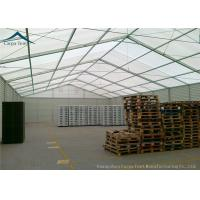 Wholesale 25m X 40m PVC Wall Covering Warehouse Tents With Auto Roller Up Door from china suppliers