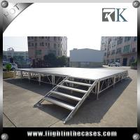 Wholesale Assembly folding stage outdoor portable stage hot sale cheap portable stage from china suppliers