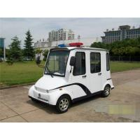 Buy cheap 3.0KW DC Motor 4 Passenger Electric Security Patrol Vehicles With Closed Door from wholesalers