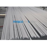 Wholesale ASTM A249 TP304 / S30400 ERW Straight welded steel pipe For Heat Exchanger from china suppliers