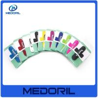 Wholesale Custom logo silicone material mobile phone stand holder with business card from china suppliers
