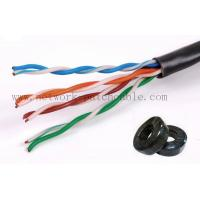 Wholesale Fluke Test Passed 305m UTP Cat5eLan Cable RoHS PVC Jacket Solid from china suppliers
