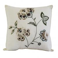 "Wholesale Always Home Flowering Vine Reversible Throw Pillow In Square Size 16"" x16"" from china suppliers"