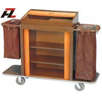 Wholesale Hotel Metal Rolling Housemaid Trolley-Guest Room Service Trolley from china suppliers