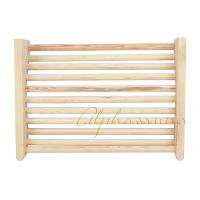 Wholesale Baltic Leisure Cedar Sauna Pillow Solid Natural Wood Headrest / Backrest from china suppliers