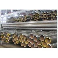 Wholesale Industrial Hot Dip Galvanized ERW Steel Pipe Silver / Black Painted Size 219 - 820mm from china suppliers