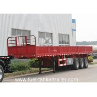 Wholesale Side wall / dropside cargo transport semi trailer with twist locks from china suppliers