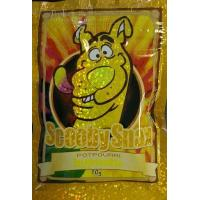 Wholesale Glossy Herbal Incense Bag 10g Scooby Snax Hologram Yellow Potpourri from china suppliers