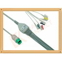 Wholesale Spacelabs ECG Patient Cable 17 Pin One Piece 5 Leads Grabber IEC from china suppliers